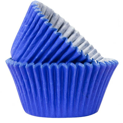 Blue Muffin Cases (Pack of 50)