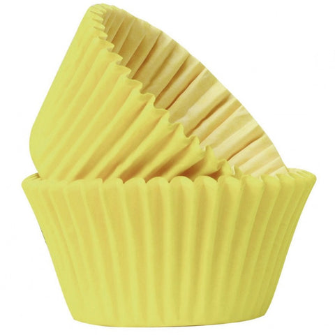 Yellow Muffin Cases (Pack of 50)