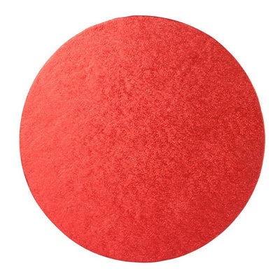 Round Cake Drum Board Red - All Sizes
