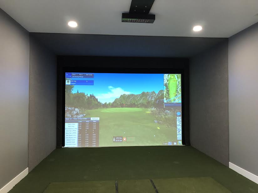 OptiShot Vision Overhead 3 Camera Golf Simulator