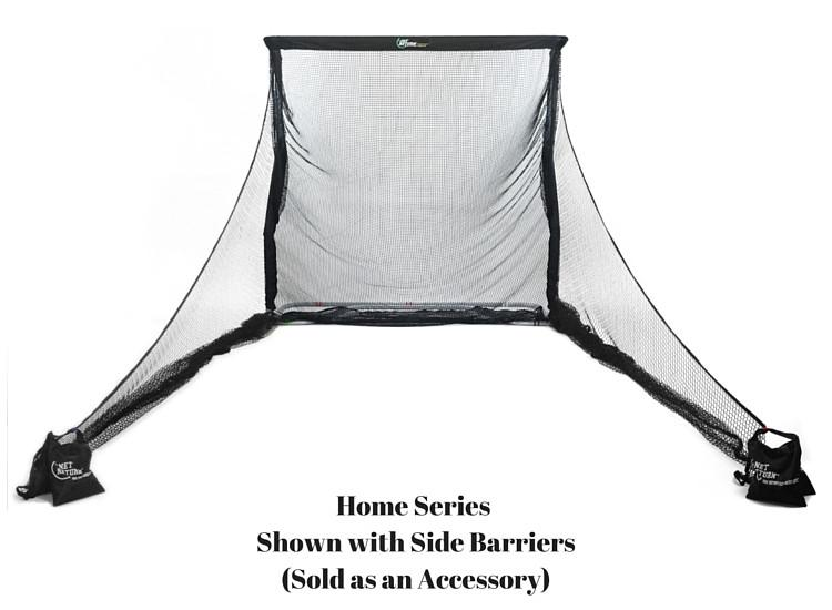 THE NET RETURN HOME SERIES NET WITH SIDE BARRIERS - strikeclub.store