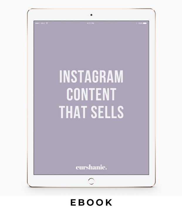 Instagram Content That Sells