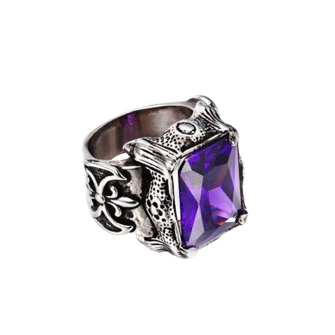 Bague Dragon Violet