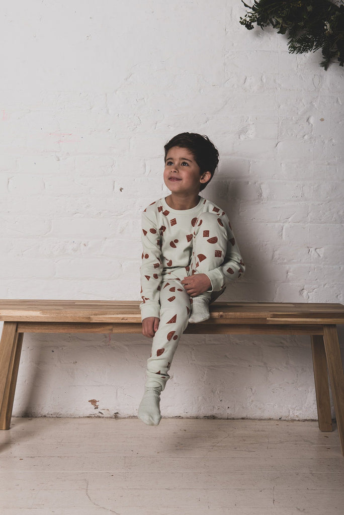 Scatter Shapes Kids Pyjamas Pyjamas Cub & Pudding