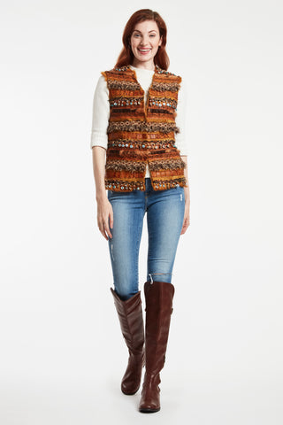 MOROCCAN INSPIRED VEST #689