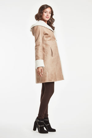 Load image into Gallery viewer, CLASSIC FITTED COAT WITH HOOD #2692HD