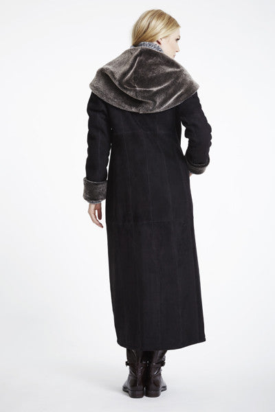 Load image into Gallery viewer, #6423 Long Long Hooded Coat REDUCED