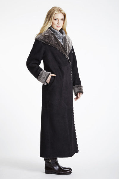 Scallop Edge Long Coat #2593