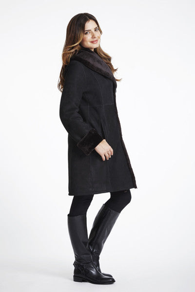 Load image into Gallery viewer, #0184 Shearling Coat