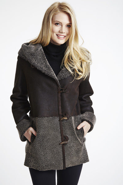 #102C Curly Wool Shearling Topper