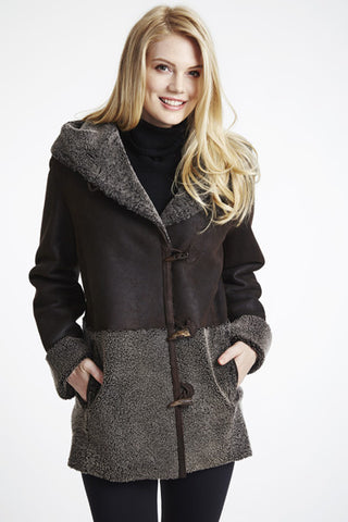 Curly Wool Shearling Topper #213