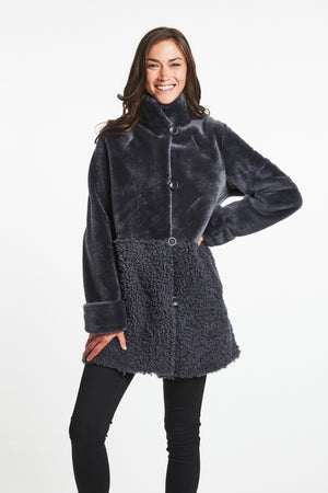 Load image into Gallery viewer, #287 Packed with style  Reversible Shearling   Sale $999 now 35% 0ff $635