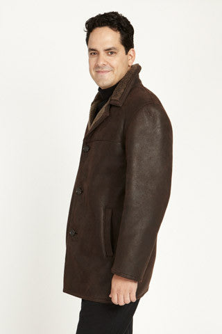 Load image into Gallery viewer, #009 Napa Finish Snowtop Shearling  Jacket