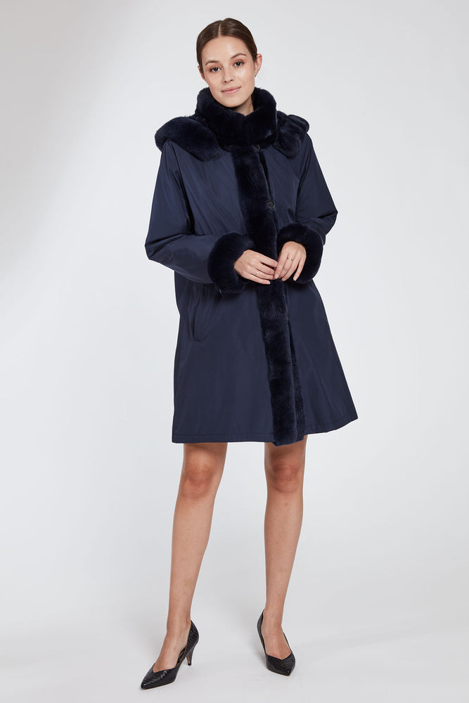 Load image into Gallery viewer, #1102HD Classic Storm Coat
