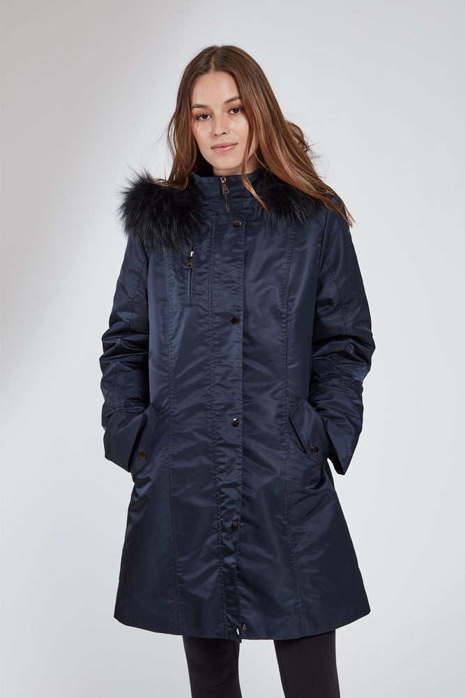 #1105 Storm Coat w/ Removable Fur Liner  Holiday Priced  $325