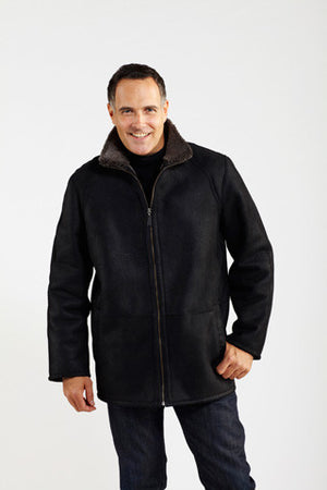 Load image into Gallery viewer, #001Z Zip Front Casual Coat
