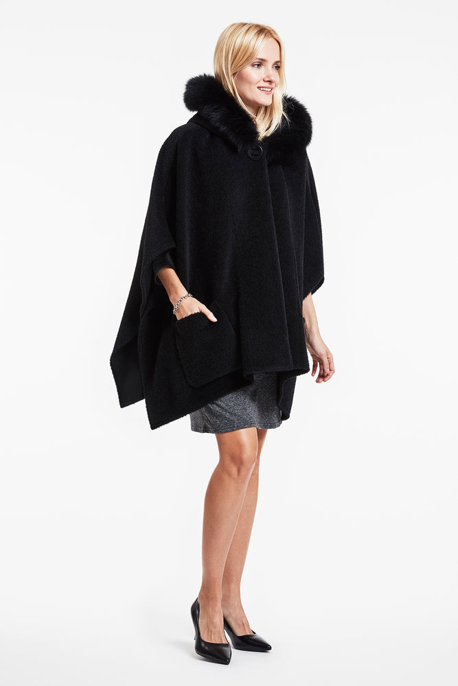 Alpaca Pocket Cape #867 SOLDOUT