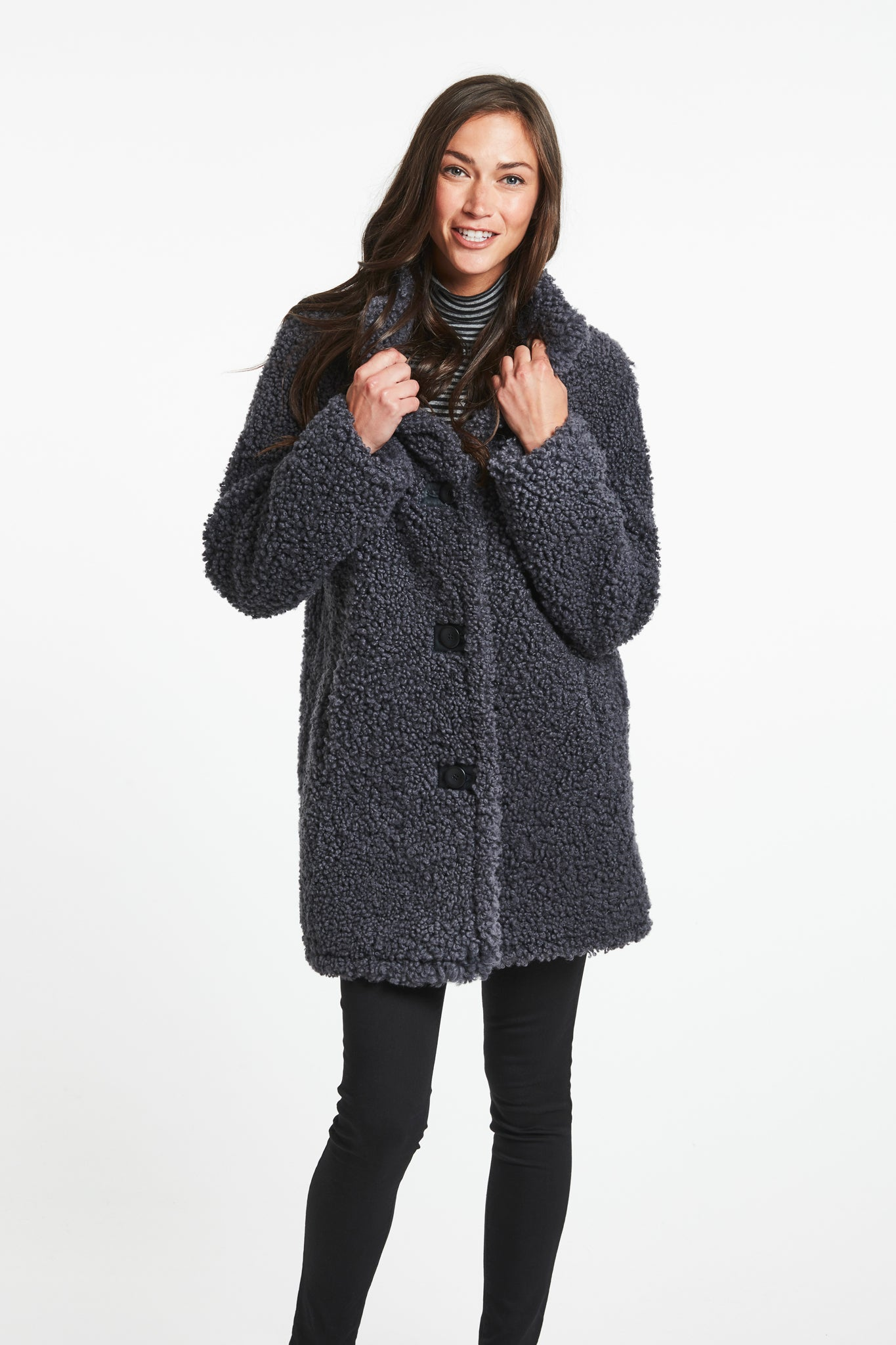 c68930a401 Shearling Coats, Jackets for Women | Shop The Best Shearling Outerwear