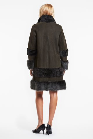 Extreme Shearling Coat #7527