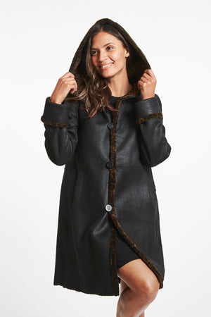 Load image into Gallery viewer, #9990 Next Level Fine Shearling  retail $2299   LAST ONE SIZE M $500