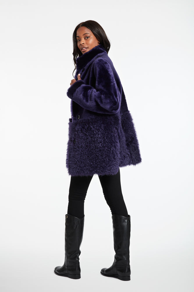Load image into Gallery viewer, #747P Reversible Shearling