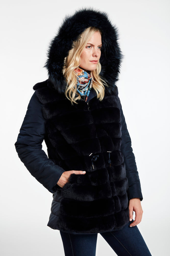 Load image into Gallery viewer, #668 Reversible Anarak Parka Close Out $650