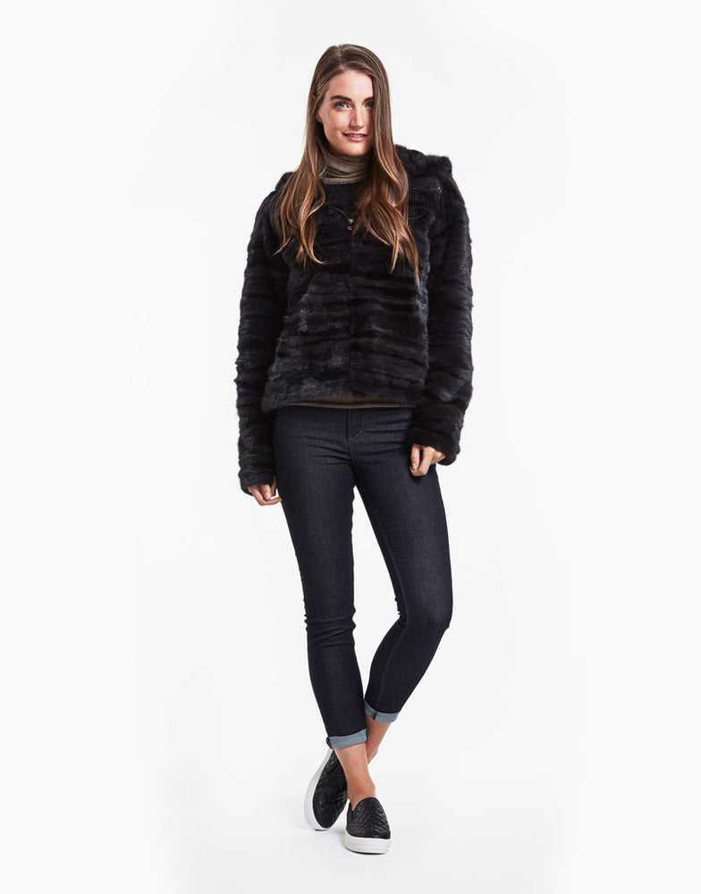 Load image into Gallery viewer, #726 Textured Mink Blousson
