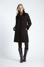 Classic Shearling Walking Coat #4725
