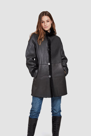 Load image into Gallery viewer, #747 Reversible Shearling   $750