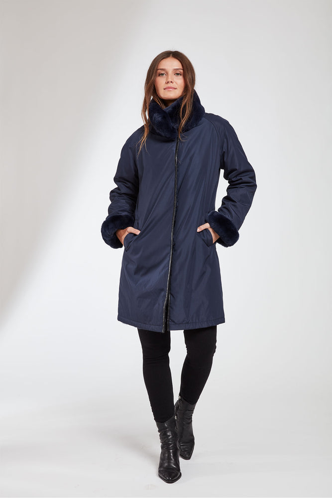 #8190  Reversibe Storm Coat Super Sale $499 now 50% off $249