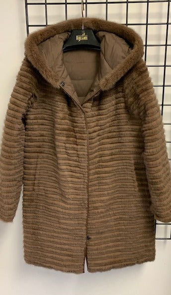 66M Reversible Mink coat to Down  Last one $1995  now $550 size XS  SOLDOUT