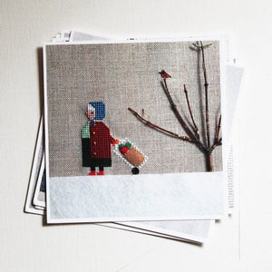 Samantha Purdy Needlecraft Postcard Sets