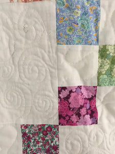 Irish Chain Pattern Quilt