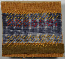 Load image into Gallery viewer, Stitched Shibori-dyed Scenes
