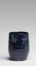 Load image into Gallery viewer, Blue Glazed Stoneware Vases