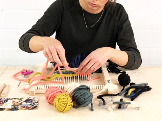 Beginner Weaving Workshop with Roving Textiles - October 19