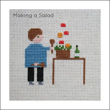 Load image into Gallery viewer, Samantha Purdy Needlecraft Small Pictures Cross-Stitch Pattern Book
