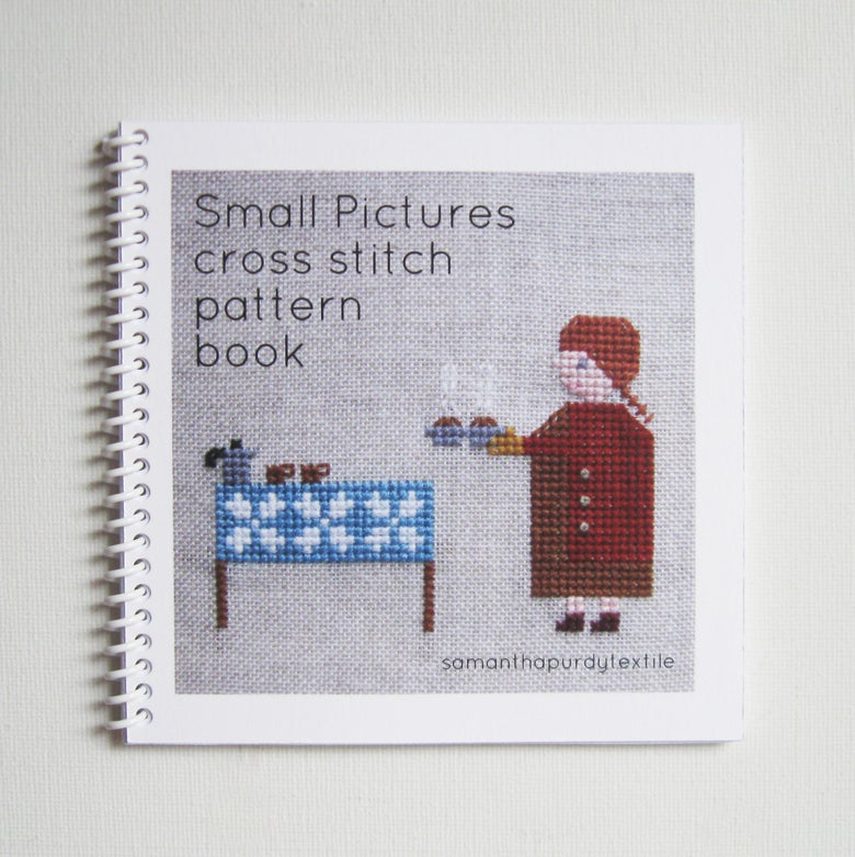 Samantha Purdy Needlecraft Small Pictures Cross-Stitch Pattern Book