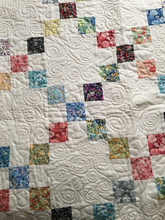 Load image into Gallery viewer, Irish Chain Pattern Quilt