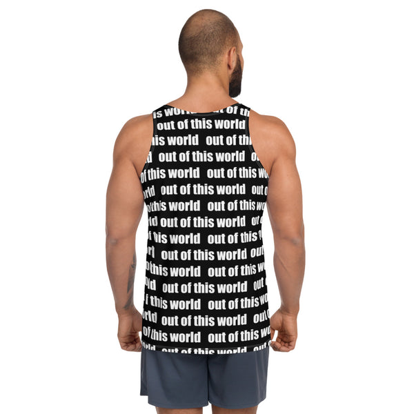 Out of This World Alien Unisex Tank Top by #unicorntrends
