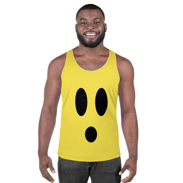 Surprised Unisex Tank Top by #unicorntrends