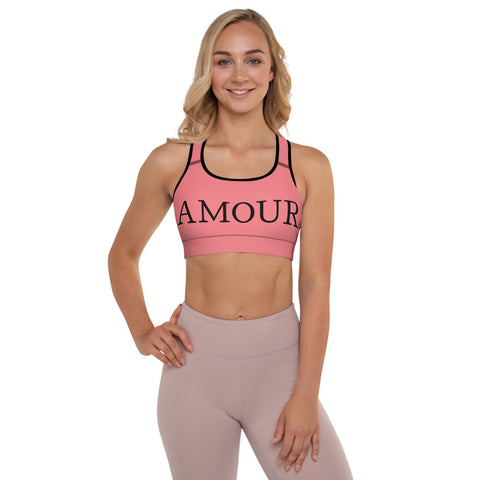 Amour Padded Sports Bra by #unicorntrends