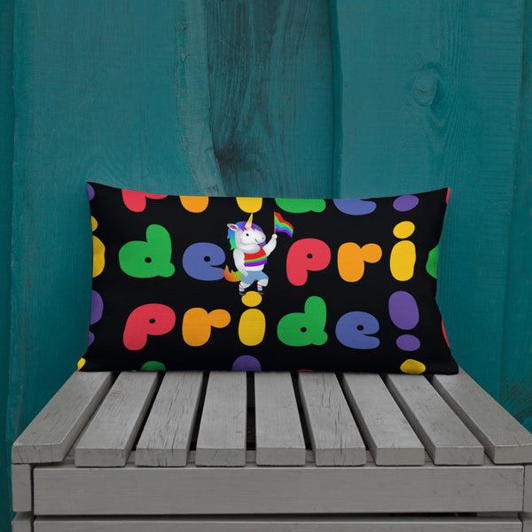 Pride Festival Pillow by Sovereign