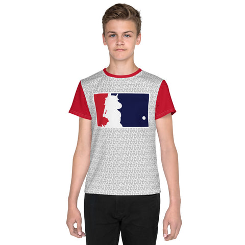 Unicorn Baseball Youth T-Shirt by Sovereign