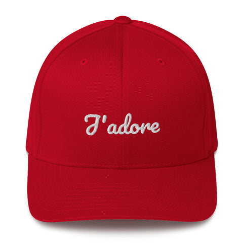 J'adore Structured Twill Cap by #unicorntrends