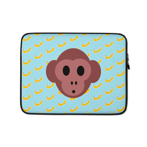 Monkey Laptop Sleeve by #unicorntrends