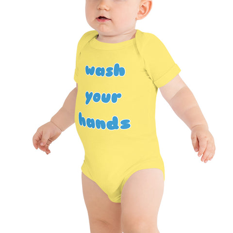 Wash your Hands Onsie by Sovereign