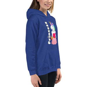 Princess Unicorn Kids Hoodie by Sovereign