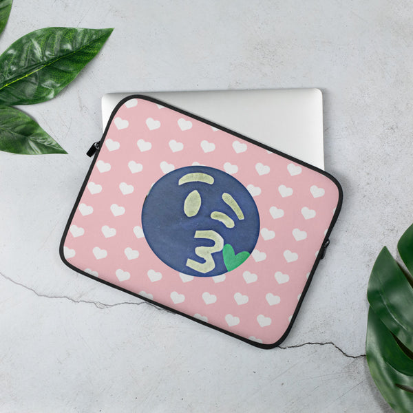 The Opposite of This Emoji Laptop Sleeve by #unicorntrends