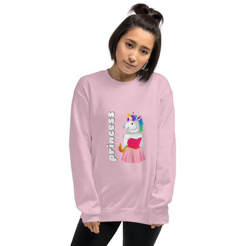 Princess Unicorn Sweatshirt by Sovereign